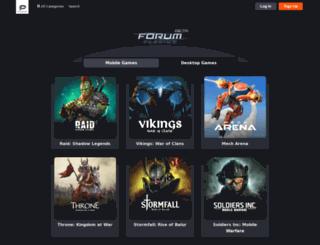 forum.plarium.com screenshot