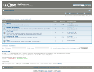 forum.plugnsurf.fr screenshot