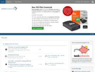 forum.pocketnavigation.de screenshot