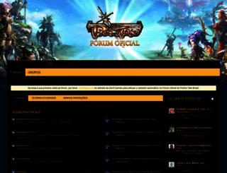 forum.priston.com.br screenshot