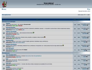 forum.radom.pl screenshot