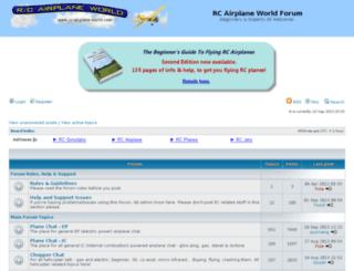 forum.rc-airplane-world.com screenshot