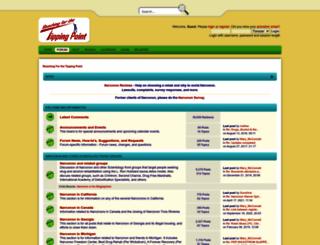 forum.reachingforthetippingpoint.net screenshot