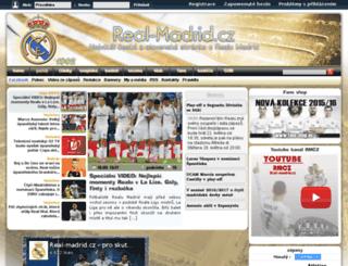 forum.real-madrid.cz screenshot