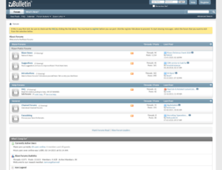 forum.rizon.net screenshot