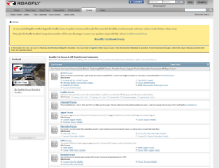 forum.roadfly.com screenshot