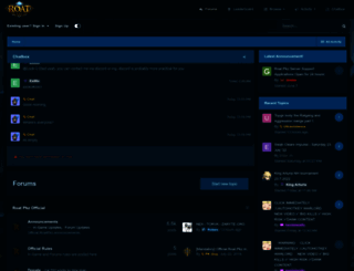 forum.roatpkz.com screenshot