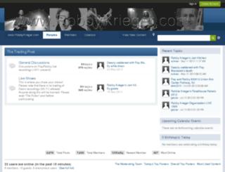forum.robbykrieger.com screenshot