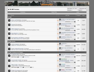 forum.sa-mp.com screenshot