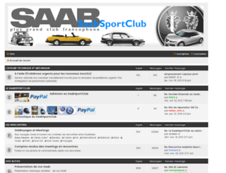 forum.saabsportclub.com screenshot