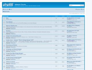 forum.sabayonlinux.org screenshot