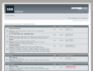 forum.sbb.rs screenshot