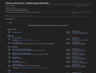 forum.shinobilegends.com screenshot