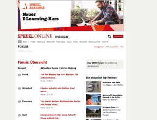 forum.spiegel.de screenshot