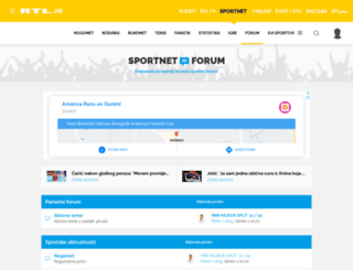 forum.sportnet.hr screenshot