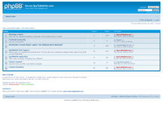 forum.spy2mobile.com screenshot
