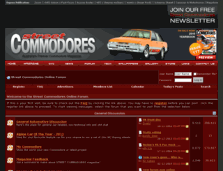 forum.streetcommodores.com.au screenshot