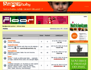 forum.superbaby.org screenshot