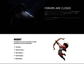 forum.supercell.net screenshot