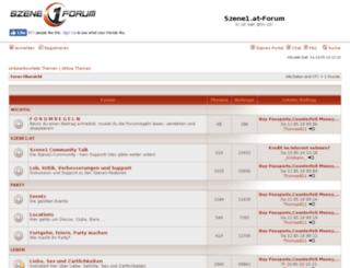 forum.szene1.at screenshot
