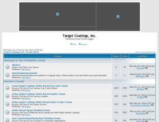 forum.targetcoatings.com screenshot