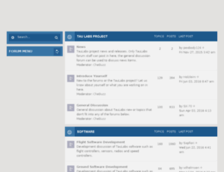 forum.taulabs.org screenshot