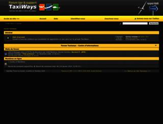 forum.taxiways.org screenshot