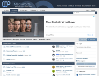 forum.team-mediaportal.com screenshot