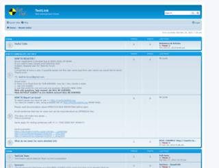 forum.testlink.org screenshot