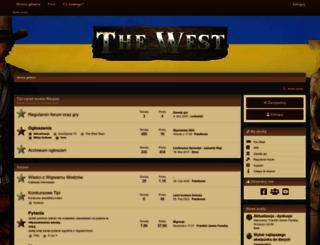 forum.the-west.pl screenshot