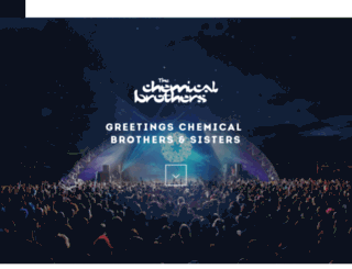 forum.thechemicalbrothers.com screenshot