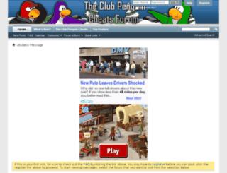 forum.theclubpenguincheats.com screenshot