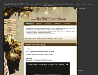 forum.thehobbit-movie.com screenshot
