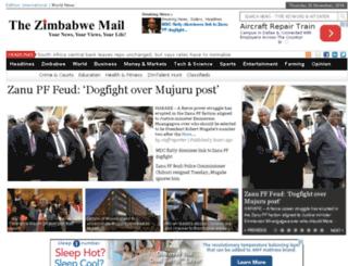 forum.thezimbabwemail.com screenshot
