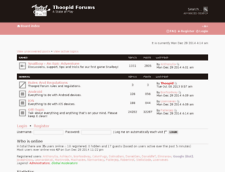 forum.thoopid.com screenshot