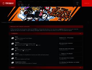 forum.toribash.com screenshot