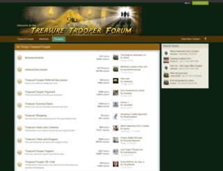 forum.treasuretrooper.com screenshot