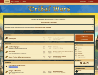 forum.tribalwars.nl screenshot