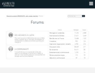forum.ucpa.com screenshot
