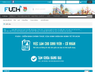 forum.ueh.edu.vn screenshot