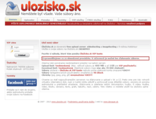 forum.ulozisko.sk screenshot