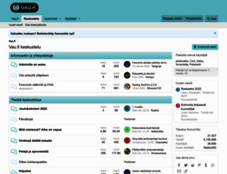 forum.vau.fi screenshot