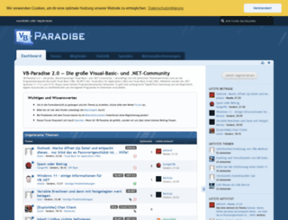 forum.vb-paradise.de screenshot