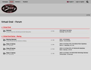 forum.virtual-oval.de screenshot