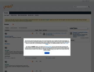 forum.vizrt.com screenshot