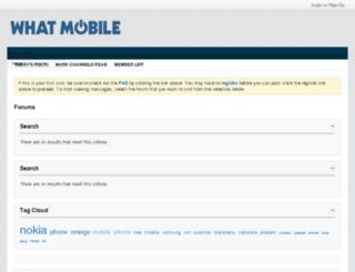 forum.whatmobile.net screenshot