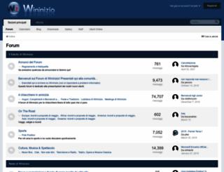forum.wininizio.it screenshot