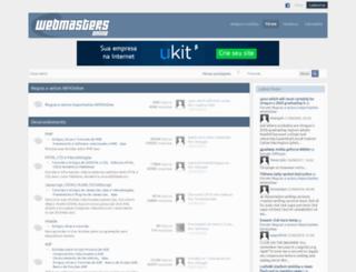 forum.wmonline.com.br screenshot