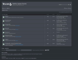 forum.wolfire.com screenshot