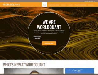forum.worldquantchallenge.com screenshot